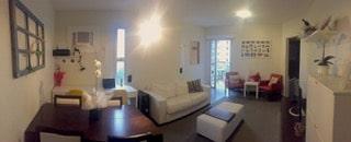 Sala de Estar e Jantar - Apartamento Princesa D'Oeste
